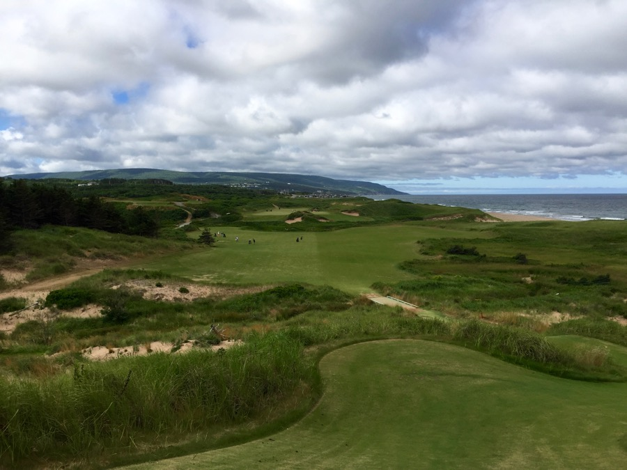 Cabot Cliffs GC- hole 2