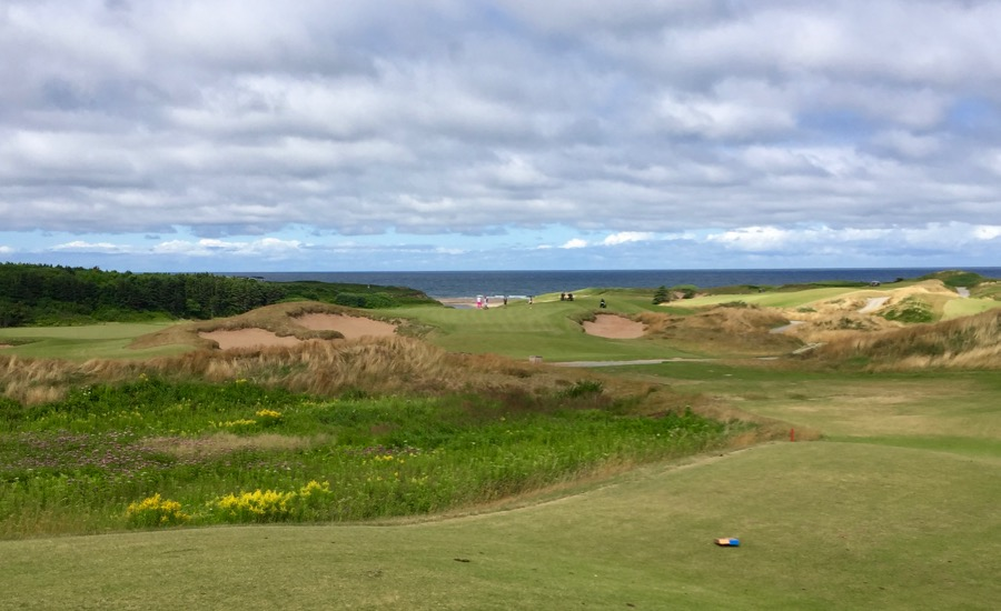 Cabot Cliffs GC- hole 5