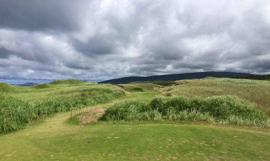 Cabot Cliffs GC- hole 6