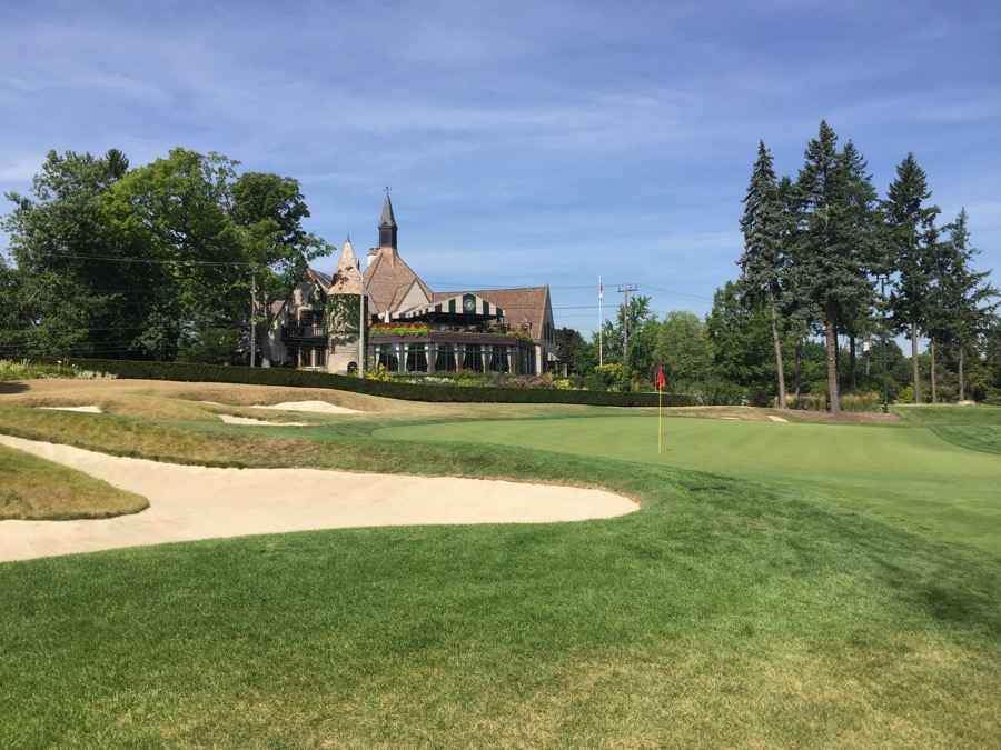 St Georges Golf & Country Club- hole 18