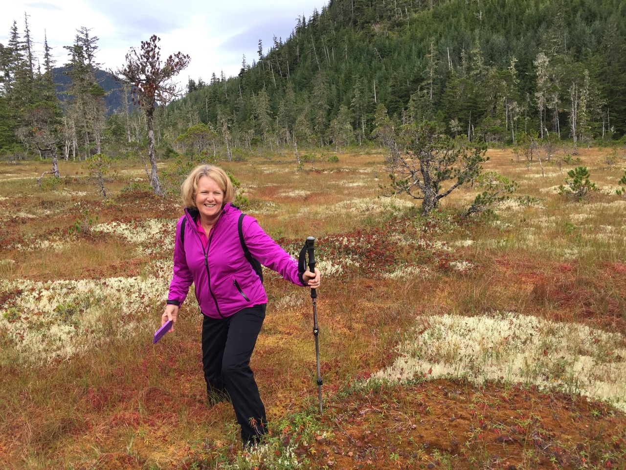 Heather in the muskeg!- Uncruise, Alaska