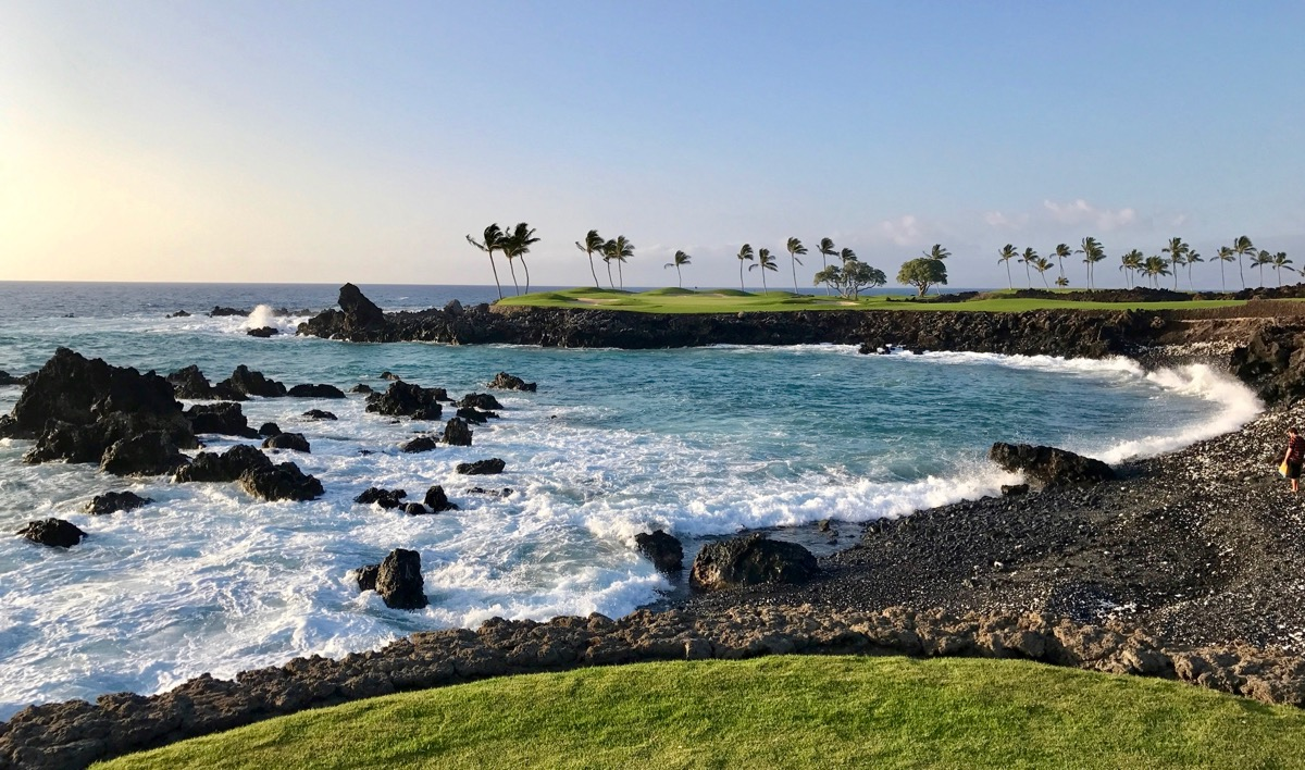 Mauna Lani Resort- South Course- hole 15