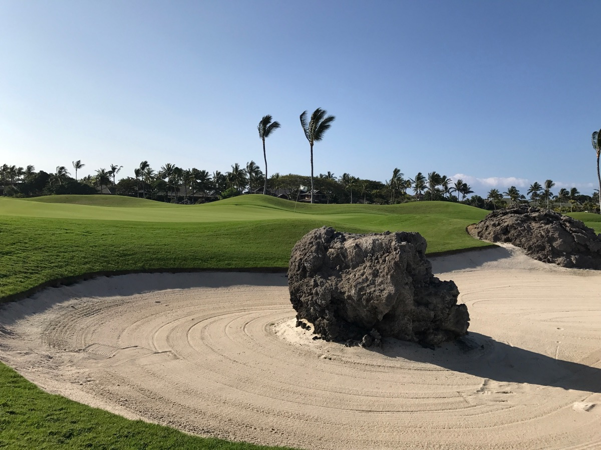 Mauna Lani Resort- South Course- hole 2