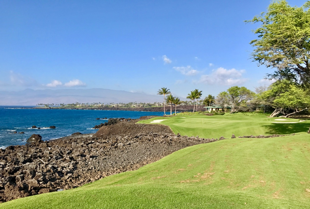 Mauna Lani Resort- South Course- hole 7