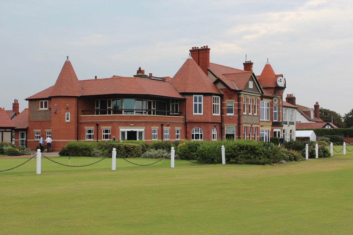 Royal Liverpool Clubhouse