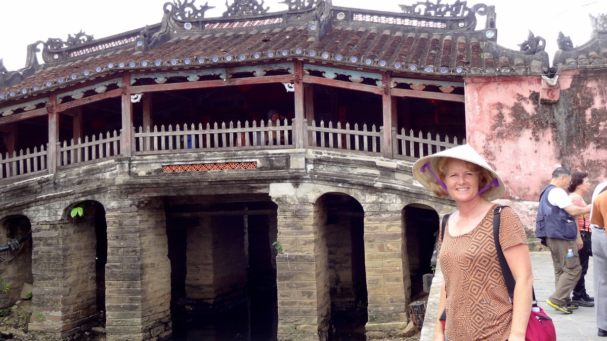 The Japanese Bridge in Hoi An