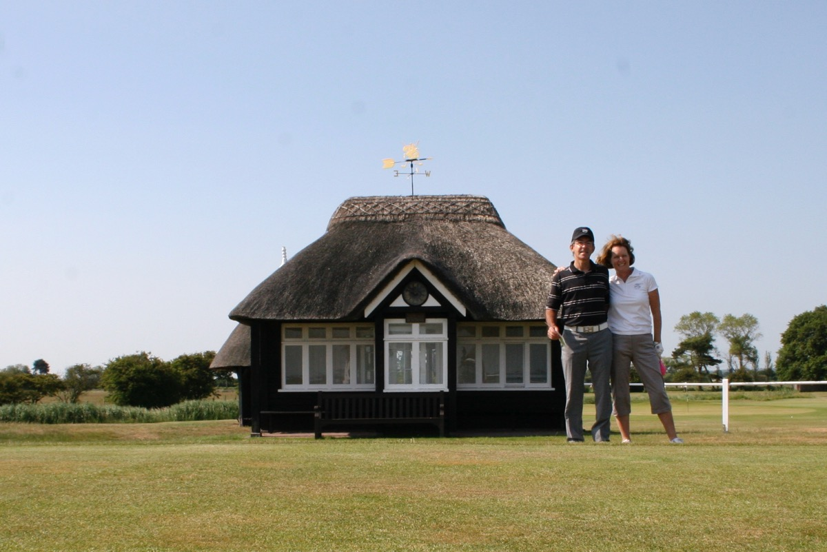 The Starters Hut at Royal St Georges GC