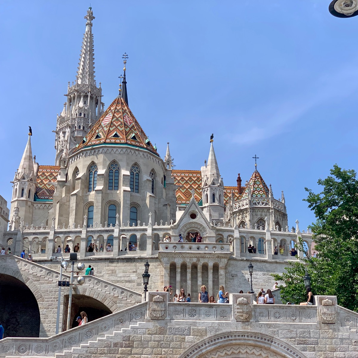Another view of Matthias Church in Budapest